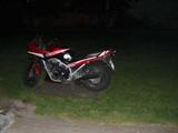 VF 100 F bei Nacht