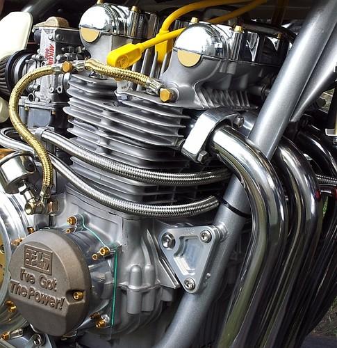 Motor / Motorradmotor