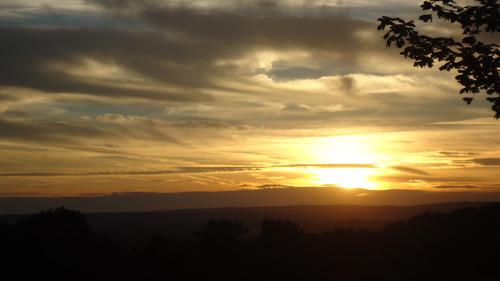 Pfälzer Sonnenuntergang auch für euch :-)