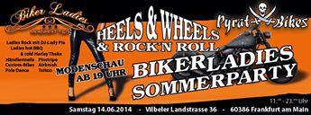 Biker-Ladies Sommerparty